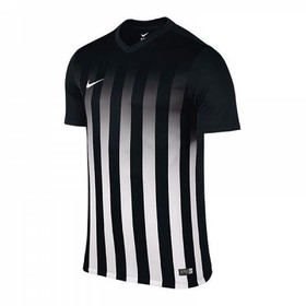 Футболка игровая Nike Striped Division II Black/White