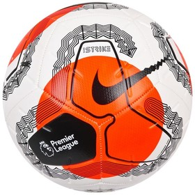Футбольный мяч Nike Strike Premier League 19/20 White/Hyper Crimson/Black