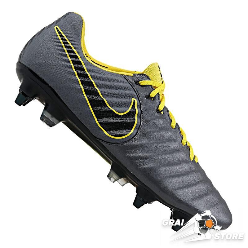 d8444a723 Бутсы Nike Tiempo Legend VII Elite SG-Pro AC Dark Grey/Yellow